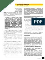 Lectura Legislación Ambiental