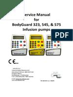 CME BodyGuard 323,545,575 - Service Manual