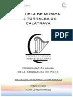 Programacion Maria Piano