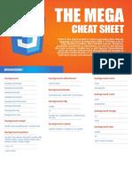 Css3 Mega Cheat Sheet A4