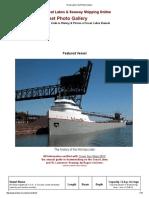 Great Lakes Fleet Photo Gallery