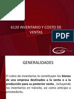 6120 Inventarios y Costo de Ventas