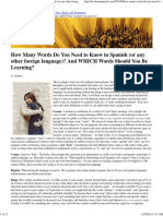 How Many Words Do You Need to Know in Spanish (or any other for.pdf