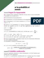 Probabilité et statistiques