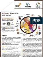Guía para análisis sensorial del cacao / Guide to sensory analysis of cocoa CONSERVACION Y DESARROLLO, Make a donation@ccd.org.ec / Haga una donación