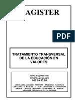 Tratamiento Transversal de La Educaci 211 n en Valores (1)