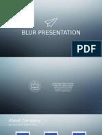 Blur PowerPoint Presentation - Color 4