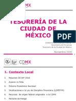 Presentación Asamblea Tesorería de la CDMX
