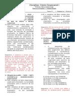 Resposta Dos Exercícios de Fixação 05 - Estabelecimento