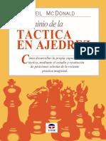El Dominio de La Táctica en Ajedrez - McDonald