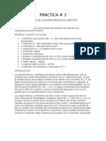 MANEJO DE LOS INTRUMENTOS DE MEDICIÓN ELECTRICA