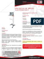 Selladora Vertical Me Impulso Electronico 305 Fi 16001014