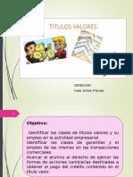 Clase 11 Los Titulos Valores