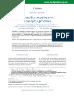espondolitis anquilosante