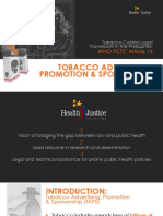 Healthjustice Art 13 Taps 2015