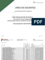 Ordenação Lista Def Ord CI 2016 GR 540