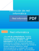 Presentacion de Red Informatica - Segundo Fadon