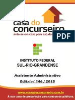 Apostila if Sul Riograndense 2015 Assistenteadministrativo (1)