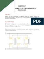 Conexion Trifasica Con Transformadores Monofasicos
