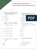 Examen de Entrenamiento IPN