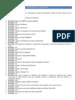Extensões de Arquivos D-N