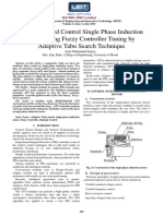 Optimal Speed Control Single Phase Induction Motor using Fuzzy Controller