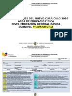 Planes Nuevos 2016 Educación Física EGB. Básica