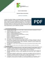 Edital 10 2016 Concurso Docente 02-09-2016