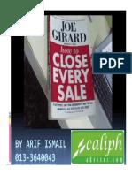 Anything pdf how to girard to anybody sell joe