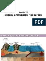 Module 25 - Georesources