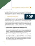 Lineamientos Generales SABER 11 2014_Lectura Crítica12
