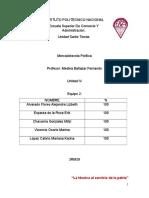 Unidad IV-Mercadotecnia Politica