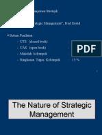 Pengantar manajemen stategik