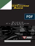 ERC Rider Classroom Cards