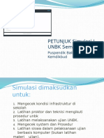 Petunjuk Simulasi 1 UNBK 2017