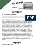 El Gato Del Espejo, Letras desde traslasierra. Revista Literaria Nª 2 (Primavera 2015)