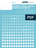 Data & Society Research Institute - Online Harassment, Digital Abuse, and Cyberstalking in America