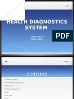 HealthCare Onine management system
