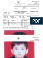 Application Format  For RTE