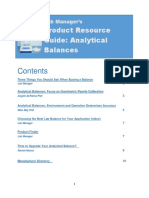 Lab Manager PRG Balance eBook
