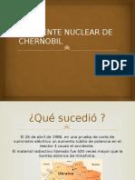 Accidente Nuclear de Chernobil