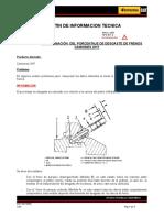 BIT2 04110500 Medicion de Desgaste de Frenos en Camiones OHT