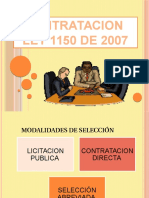 Presentacion Contratacion Ley 1150