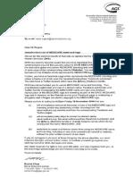 Medicare Legal Letter