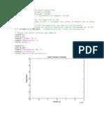 Cálculo de La FFT