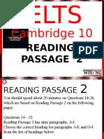 Cambridge 10 Reading 2