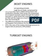 Turbojet Engines