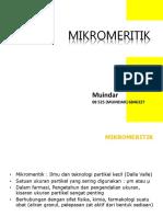 Mikromeritik