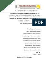 Informe Final de Proyectos de Vinculación