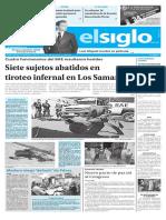 Edición Impresa Elsiglo 23-11-2016